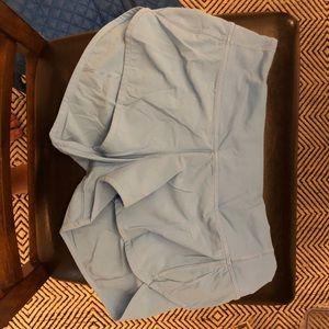"""Blue lululemon short """"2.5 size 4"""